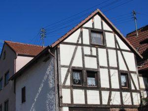 Renovierung der Hausfassade