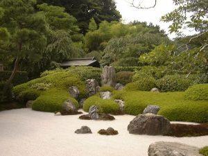 Asiatischer Garten in eigenem Zuhause