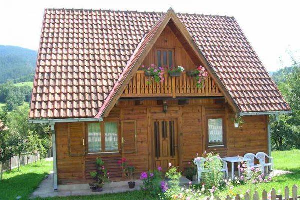 Holzhäuser sind wieder in Mode