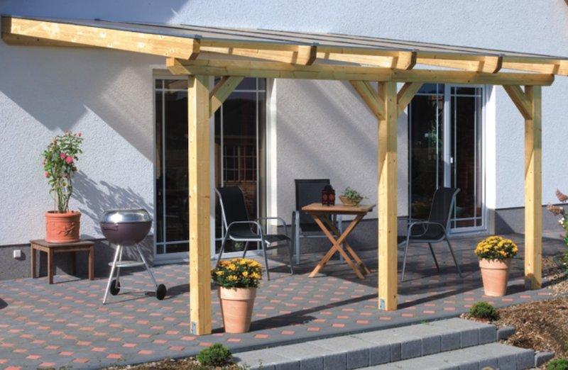garten terrasse uberdachen – tiedweb, Haus und garten