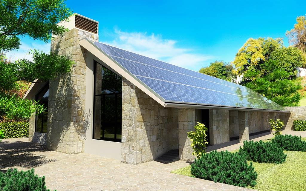 solaranlage strom w rme und warmwasser aus dem sonne. Black Bedroom Furniture Sets. Home Design Ideas
