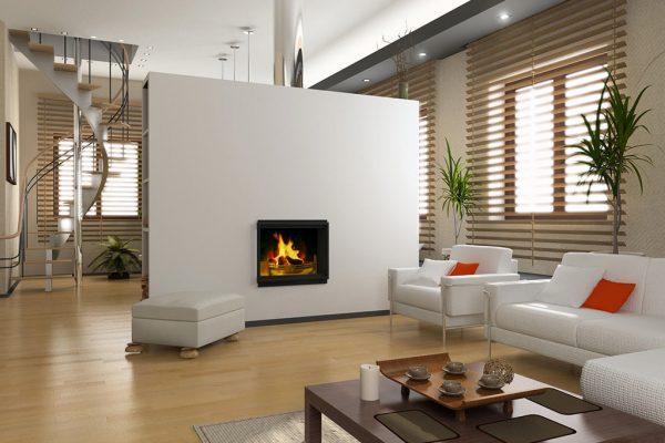 Modern-Kamine – Bauweise, Brennstoffe und Trends