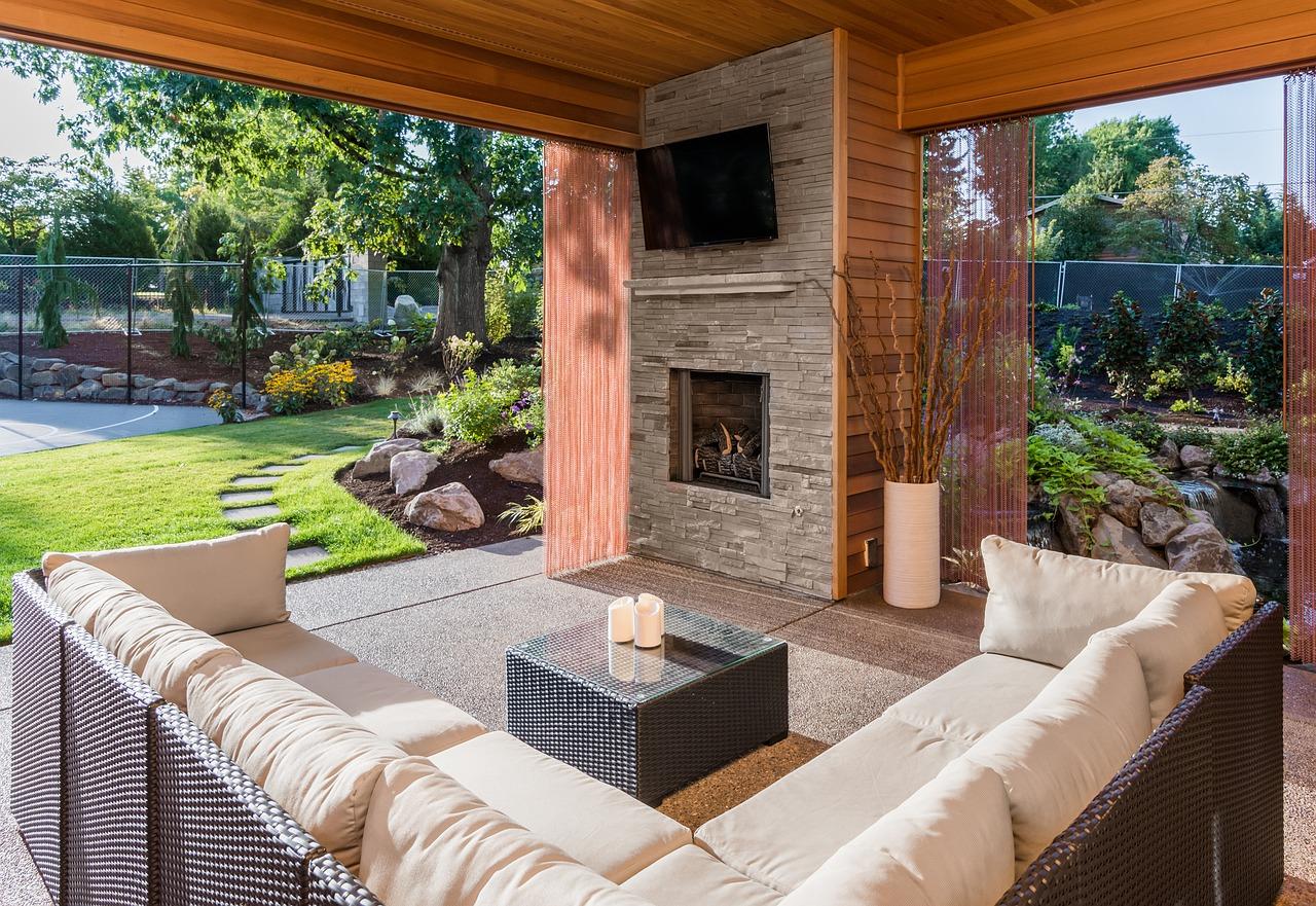 Welche Möbel fügen sich am besten in die Gartenumgebung ein?